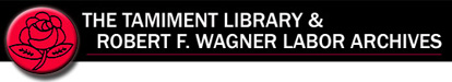 Tamiment Library and Robert F. Wagner Labor Archive logo