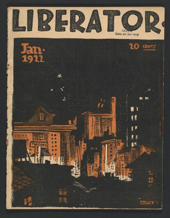 The Liberator, January 1922
