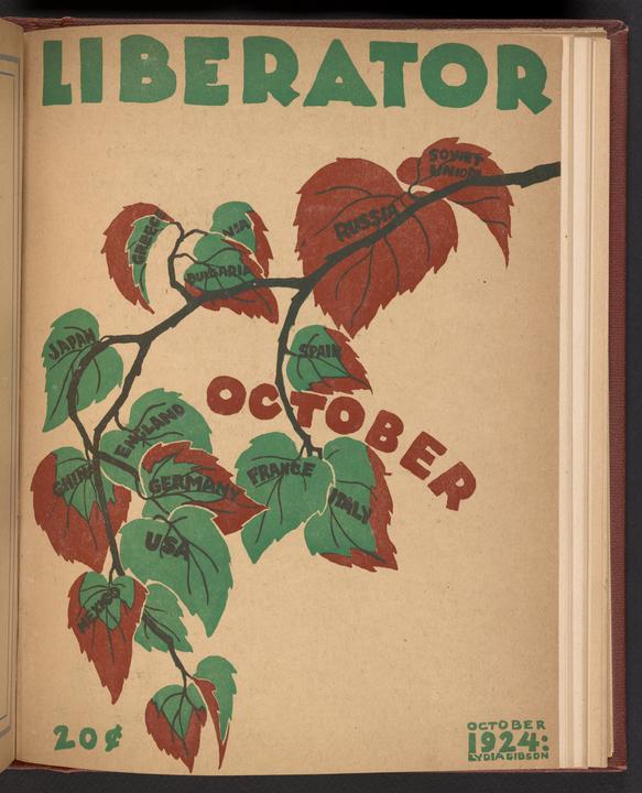 The Liberator, October 1924