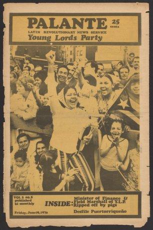 Palante, June 19, 1970