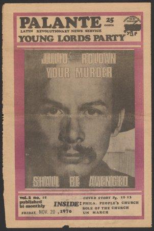 Palante, November 20, 1970