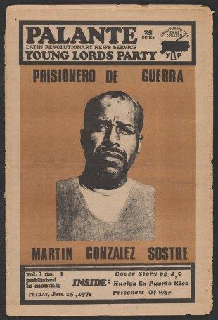 Palante, January 15, 1971