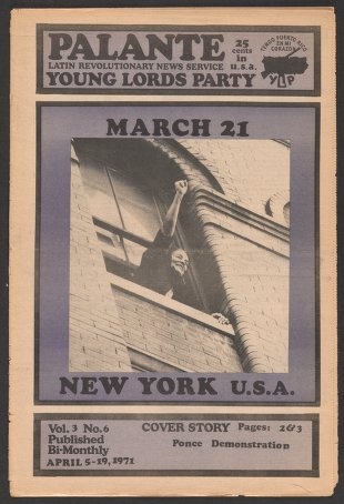 Palante, April 5-19, 1971