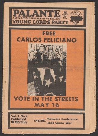 Palante, May 1971