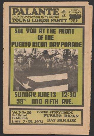 Palante, June 7-20, 1971