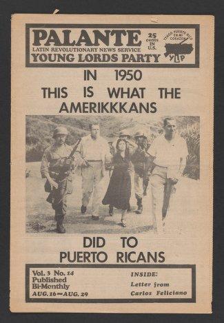 Palante, August 16-29, 1971