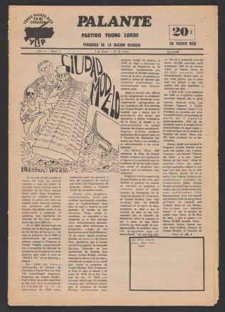 Palante, January 7-21, 1972