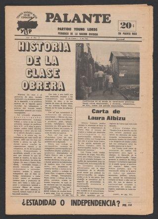 Palante, January 23-February 2, 1972
