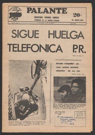 Palante, February 5-19, 1972