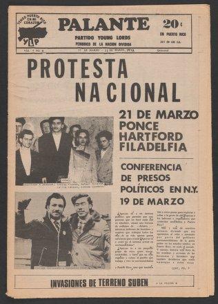 Palante, March 17-31, 1972