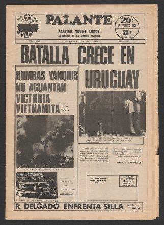 Palante, March 30-April 13, 1972