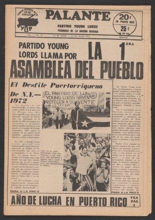 Palante, May 12-26, 1972