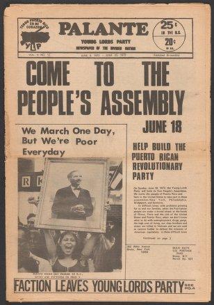 Palante, June 9-23, 1972