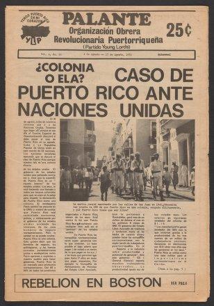 Palante, August 4-17, 1972