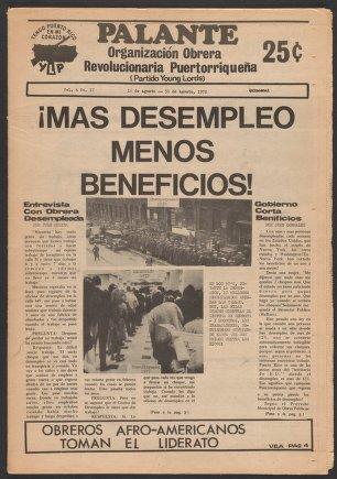 Palante, August 16-31, 1972