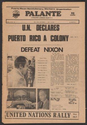 Palante, September 1-14, 1972