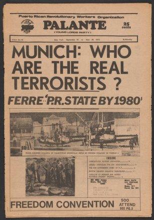 Palante, September 15-28, 1972