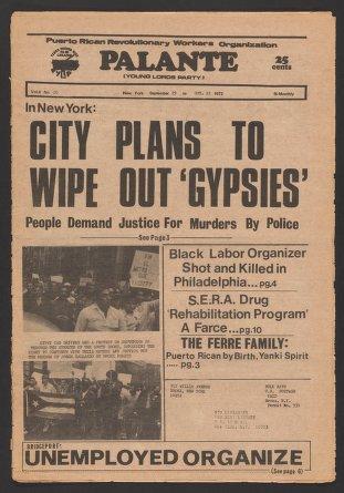 Palante, September 29-October 12, 1972
