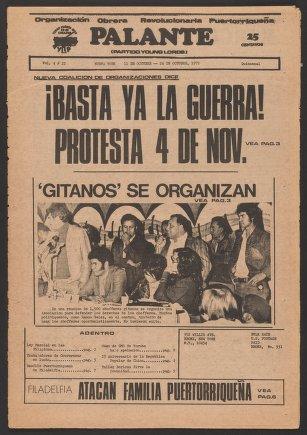 Palante, October 11-24, 1972