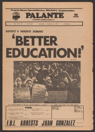 Palante, December 6-19, 1972