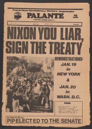 Palante, January 17-31, 1973