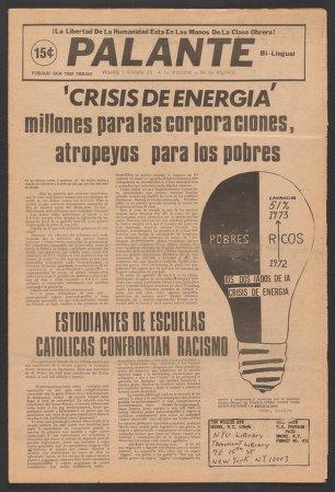 Palante, February 4-24, 1973
