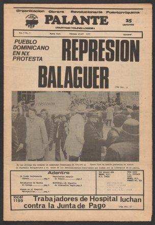 Palante, February 15-28, 1973