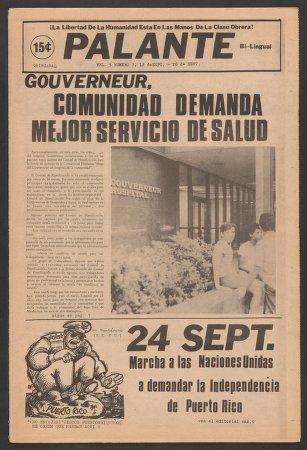 Palante, September 12-26, 1973