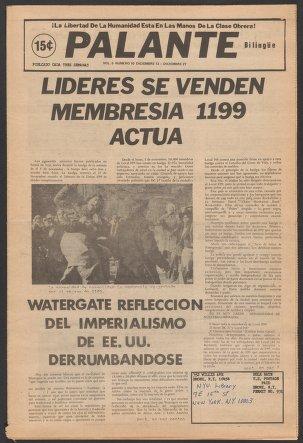 Palante, December 13-27, 1973