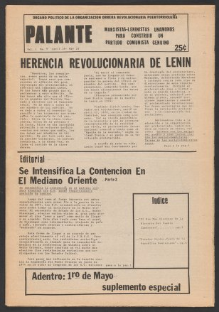 Palante, April 28-May 28, 1975