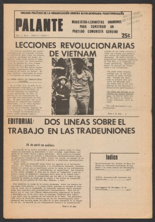 Palante, June 4-July 4, 1975