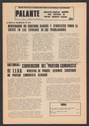 Palante, August 10-September 10, 1975