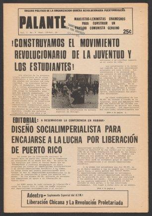 Palante, September 10-October 10, 1975