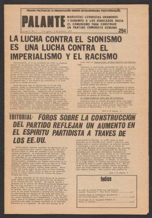 Palante, January 8-February 8, 1976